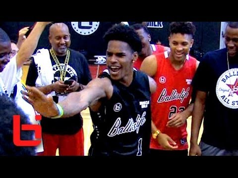 Ahmed Hill Puts on a Show at Ballislife All American Game!! - YouTube 52e37fa73