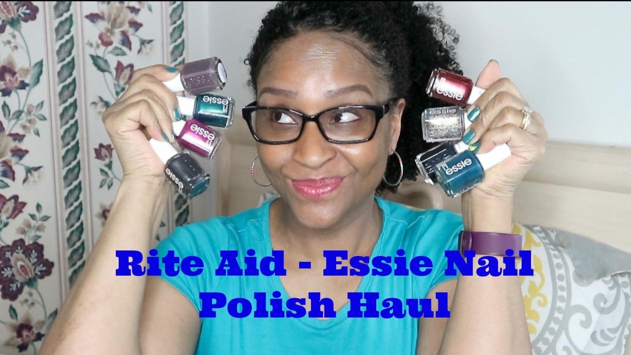 Rite Aid - Essie Nail Polish Haul - YouTube