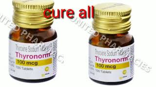 Thyroxine Sodium Tablet Ip Thyronorm 100mcg Review And Know How To