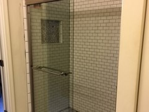 How To Convert A Tub/shower To A Walk In Shower Part 9