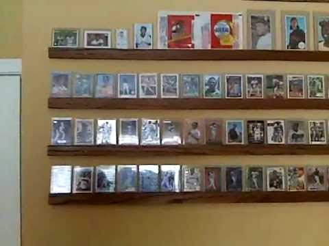 My Baseball Card Room