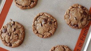 [Eng Sub] 초간단 쫀득한 초코칩쿠키 만들기 easy& chewy chocolatechip cookies│자도르