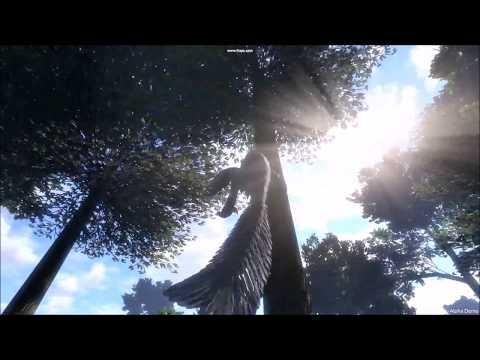 Saurian pre-release: Dakotaraptor Climbing?