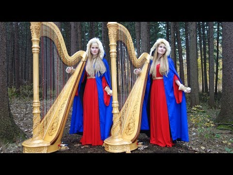 NORSK JUL (Original Song) – Camille and Kennerly, Harp Twins