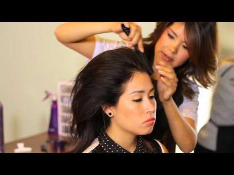 How to Make a Beehive Hairdo : Tress to Impress