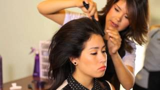How To Make A Beehive Hairdo : Tress To Impress