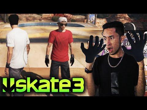 Skate 3 BLACK GLOVES