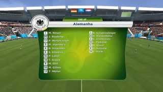 FIFA WORLD CUP 2014 PC Gameplay por Ramon