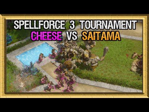 Spellforce 3 Tournament - Grand Finals - Cheese vs Saitama - Game 1 |