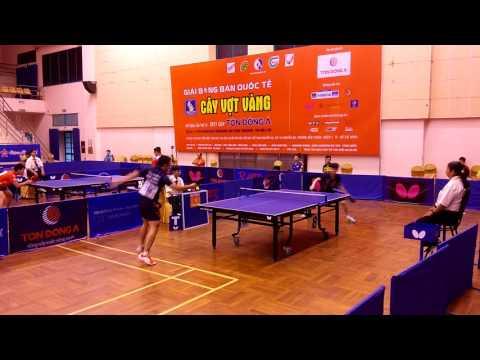 Cây vợt vàng 2017   Padasak Tanviriyavechakul (THAILAND) vs Nguyễn Hoàng Chung (cement Hoàng Thạch)