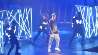 HD Justin Bieber - BOYFRIEND [PARIS BERCY] Purpose Tour 2016