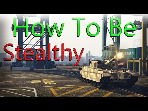Gta 5 Online | How To Make Attack Vehicles Stealthy - Map Icon - GTA Tutorials Pt2