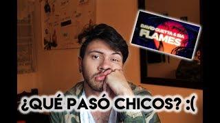 REACCIÓN A FLAMES - DAVID GUETTA ft. SIA| Niculos M Video