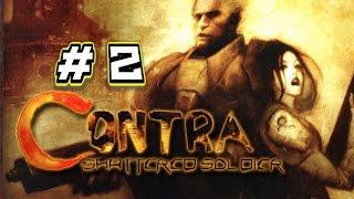 Contra: Shattered Soldier gameplay PC español ps2 parte 2 no comentario