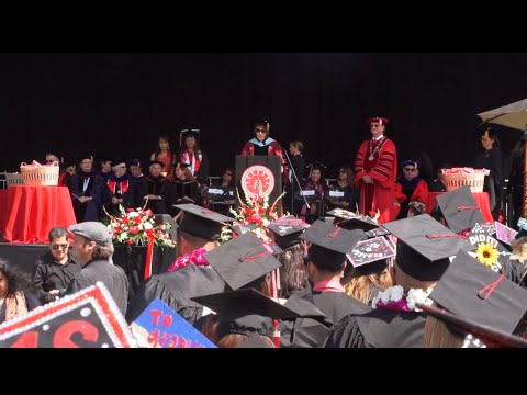 2015 Commencement Ceremony - Morning
