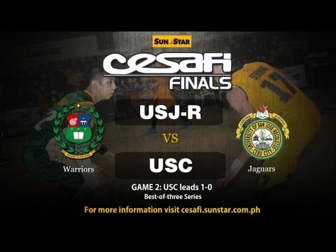 USC Warriors vs USJ-R Jaguars - Season 13 Finals - Game 2