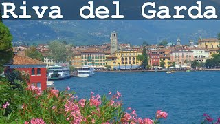 Riva del Garda and Apponale Path with Breathtaking Panoramic View of Garda Lake