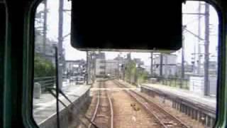 可部線 七軒茶屋→安芸長束 前面展望