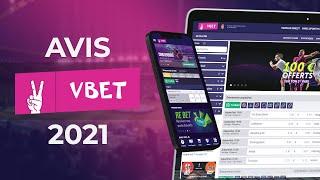 ᐉ Vbet  →  Avis du bookmaker【2021】 video preview
