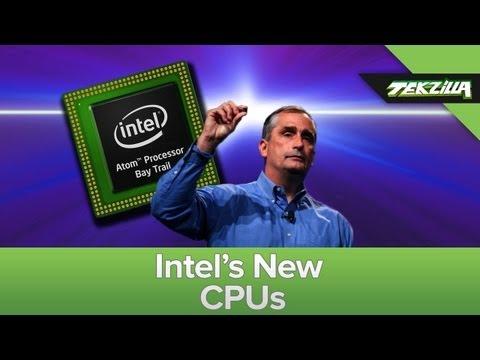 Intel News: Bay Trail, Broadwell, & Quark!