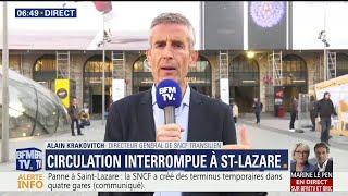Saint-Lazare: la SNCF