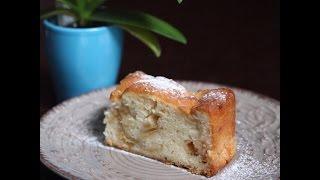 Шарлотка с яблоками // Рецепт для ленивых // Baking with Dianatadi