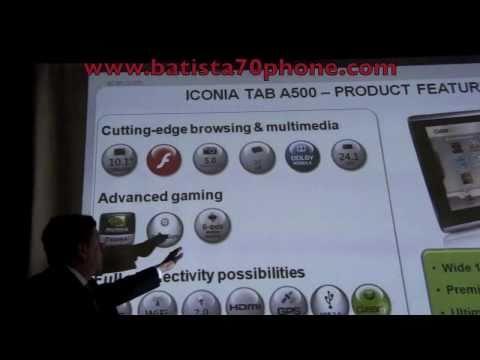 Presentazione Acer Iconia Android Tab e Smart Video by batista70phone.wmv