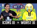 What If A Team Of Icons Faced The Worst Team In A Full 90 Minute Match? - FIFA 19 Experiment