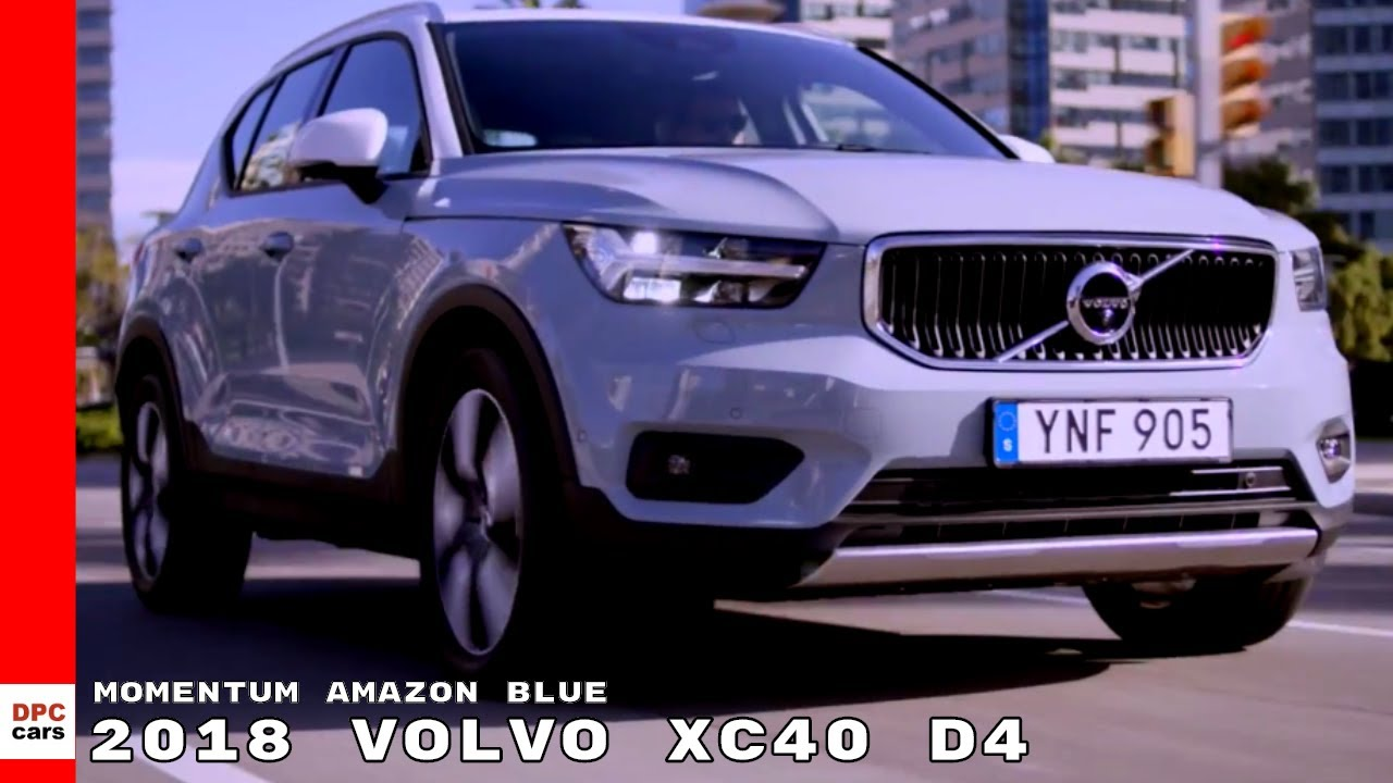 2019 volvo xc40 d4 momentum amazon blue youtube. Black Bedroom Furniture Sets. Home Design Ideas