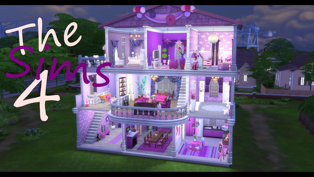 Barbiehuset - The Sims 4 Speed Build (SWEDISH/SVENSKA