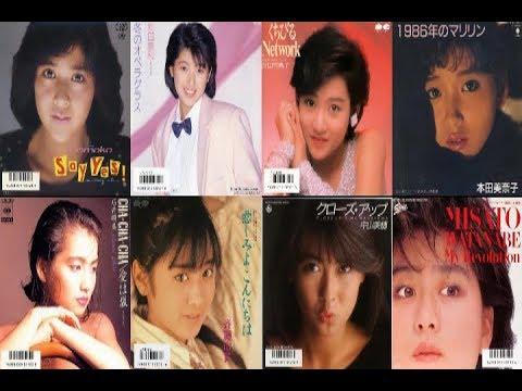 1986年ヒットソングメドレー(昭和61年)【改訂版】 - YouTube