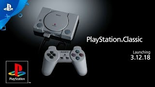 PlayStation Classic - Official Teaser Trailer (PS4 2018)