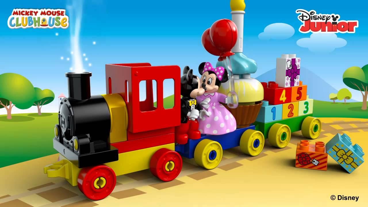 Lego Duplo 10597 Parada Urodzinowa Myszki Miki I Minnie Youtube