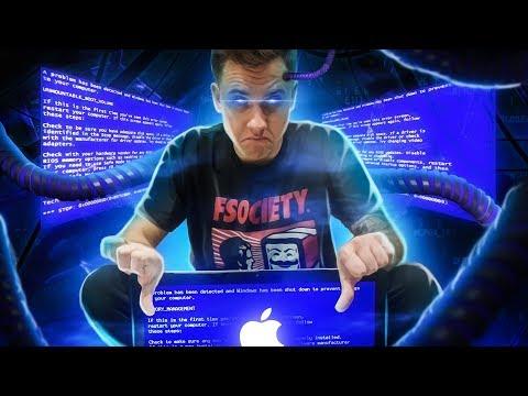 СЛОМАЛ Mac на Windows 7 | СИНИЙ ЭКРАН НА Mac ЭТО РЕАЛЬНО [BSOD - ЭКРАН СМЕРТИ]