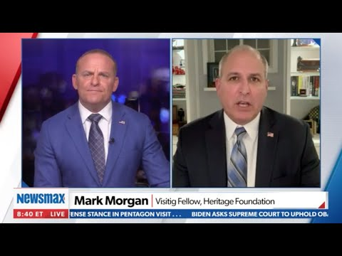 Border Agents Are Apprehending More Than *3,000* Migrants A Day | Mark Morgan on Newsmax TV