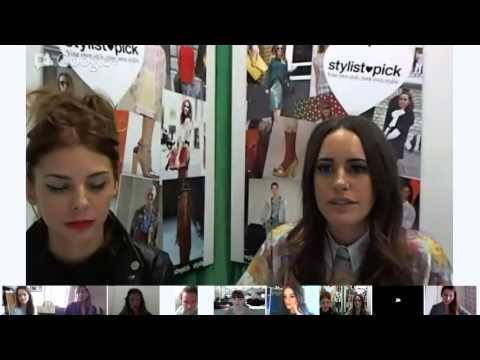THE STYLE SESSIONS: How to get the SS 13 London Look Hangout with Louise Roe
