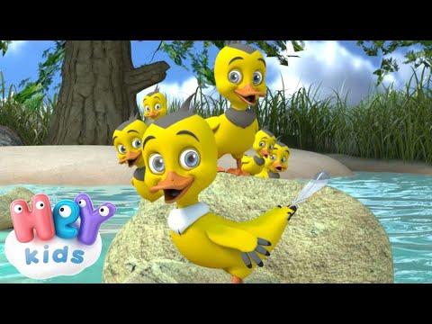 Sechs Kleine Entchen - Kinderlieder mit tieren - KinderliederTV.de