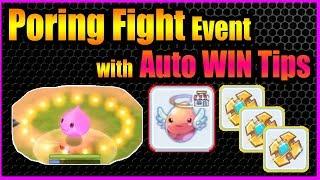 Poring Fight Auto-Win Secret Tips [Ragnarok M Eternal Love]