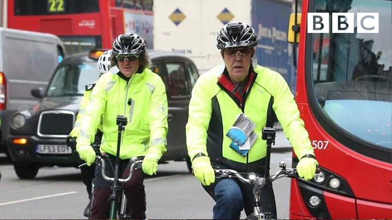 James May and Jeremy Clarkson on cycle safety - Top Gear: Series 21 Episode 5 - BBC Two
