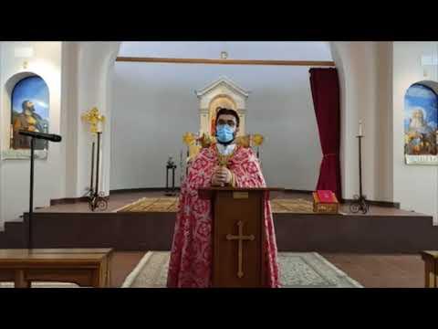 English and Armenian Sermon, December 6, 2020