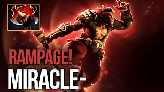 Miracle- The Art of Monkey King MADNESS RAMPAGE 100k+ DMG Dota 2