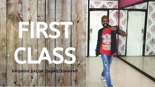 Kalank - First Class | Varun Dhawan | Dance Choreography | Krishna Salsa | Krishna Entertainment Act