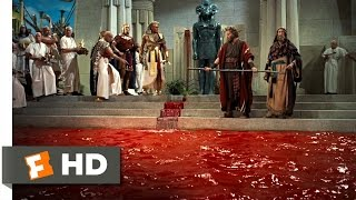 Repeat youtube video The Ten Commandments (3/10) Movie CLIP - Moses Turns Water Into Blood (1956) HD