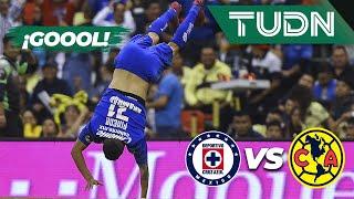 ¡Esto ya es goleada Azul! | Cruz Azul 4 - 2 América | Liga Mx - AP 19 - J13 | TUDN