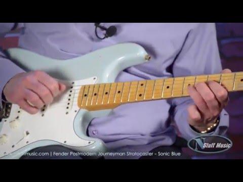 Fender Postmodern Journeyman Stratocaster - Sonic Blue | N Stuff Music