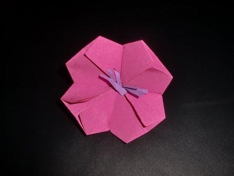 origami kirschbl te cherry blossom sakura doovi. Black Bedroom Furniture Sets. Home Design Ideas