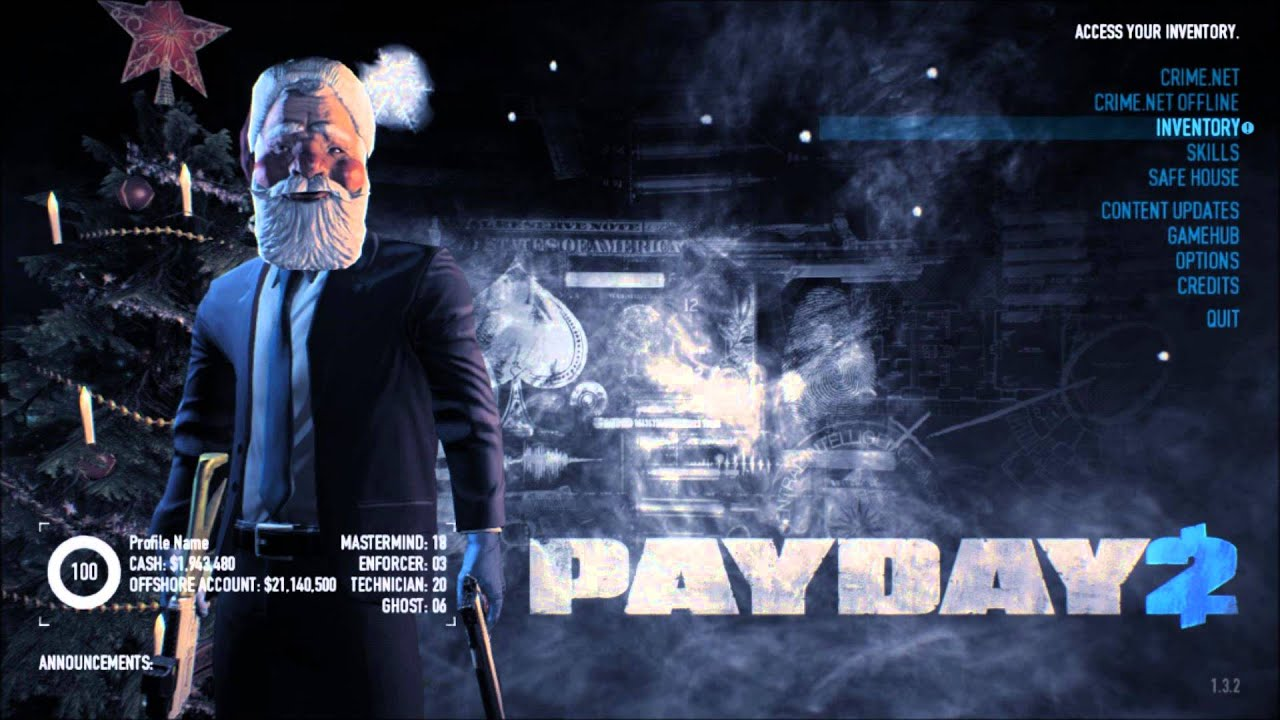 Payday 2 Christmas Song: Deck the Safe House - YouTube