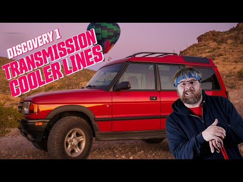 Land Rover Discovery 1 Build: How to Replace The Transmission Cooler Lines