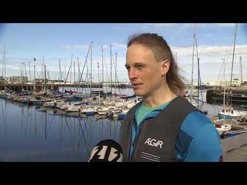 Icelandic National TV, Stöð2 News, Interview with Fiann Paul, captain of Polar Row