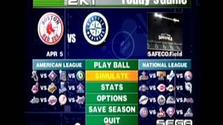 World Series Baseball 2K1 Season Mode BGM